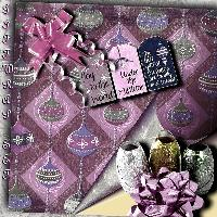 Holiday Gift Wraps, Ribbons & Tags