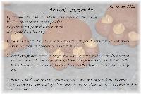 Animal Pawprints recipe
