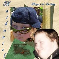 Nathaniel happy birthday