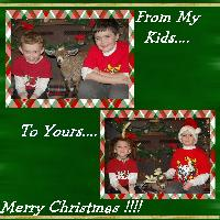 My Christmas from my kids