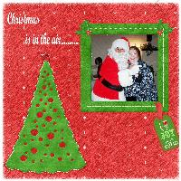 Christmas in in the air.......