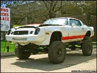 Jacked Up Camaro