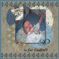 C is for Caden