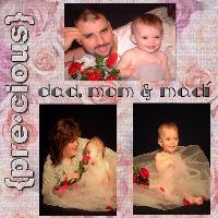 Dad, Mom & Madi 2003