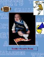 Daddy's favorite team