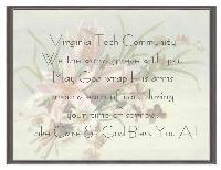 Virginia Tech Message