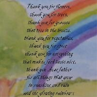 thank you for the things that grow