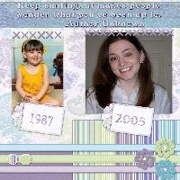 Me: Then and Now
