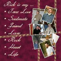 Rick, my Love, my Life ...