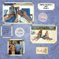 Family Vacation 2003 - Florida