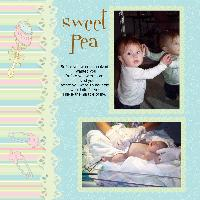 First scrapbook page