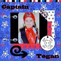 Tegan the Pirate!