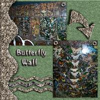 Quigley's Butterfly Wall