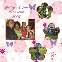 Mother's Day Weekend 2007