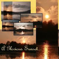 A Glorious Sunset... (sunset/sunrise challenge)