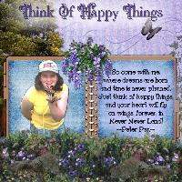 Think Of Happy Things