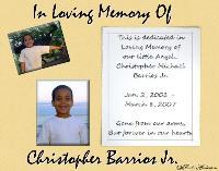 Christopher Barrios Jr.
