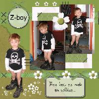 Zeke in my boots