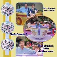 Disneyland Teacups 2005