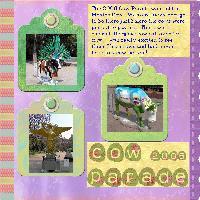 Cow Parade Mexico Style