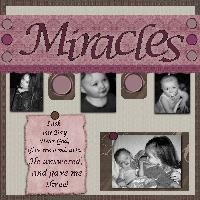 Miracles- Template Challenge
