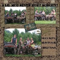 A Lil Mud (diggin dirt challenge)