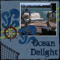 Ocean Delight Template