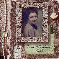 Colorized Portrait of Grandma