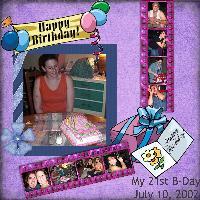 My 21st BDay