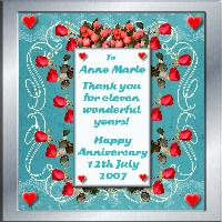 For Anne Marie