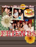 Nothing is Sweeter than  Friends