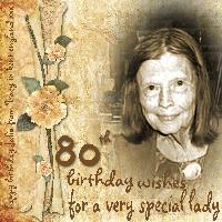 happy 80th julia