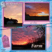 Sunrises at the Farm