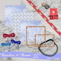 Beaches and Boats Kit