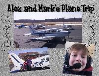 Alex and Mark's Plane Ride