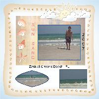 Zack at Cresent beach