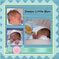 sleepy little man