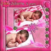 jolie juliette 5 jours