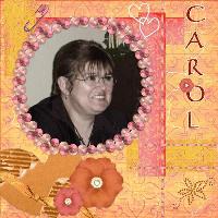 for my dear friend Carol