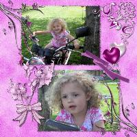 HarleyBaby in Pink