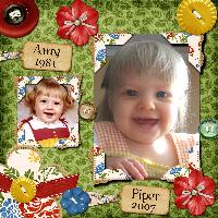 Amy & Piper, Mother & Daughter