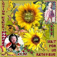 sunflowers for cathybug