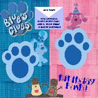 Blues clues challenge template3