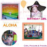 Alyssa's 7th Birthday