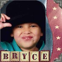 Another Page for young Bryce