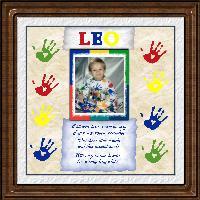 Leo's Handprints