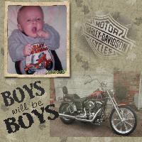 Logan...future biker badboy LOL