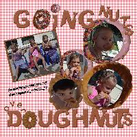 going nuts over doughnuts