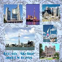 Toronto Skyline and CN Tower