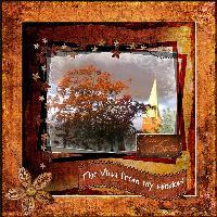 Autumn Outsite My Window